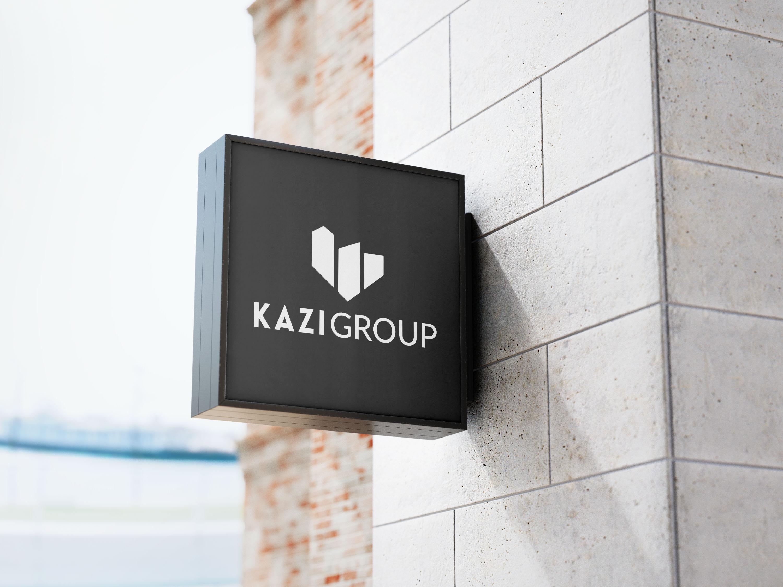 Kazi Group Outdoor Sign