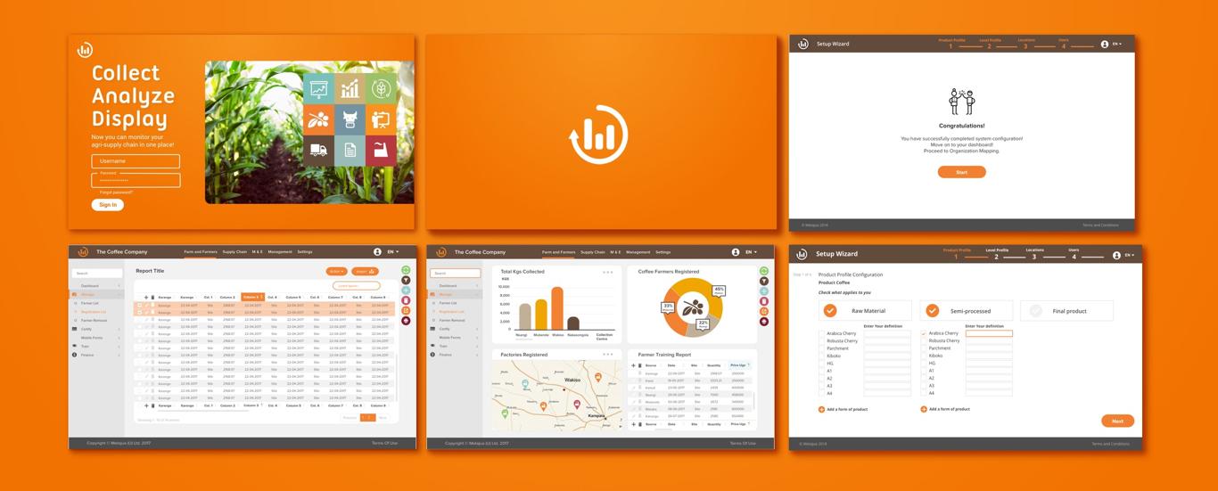 Metajua web app UX/UI design