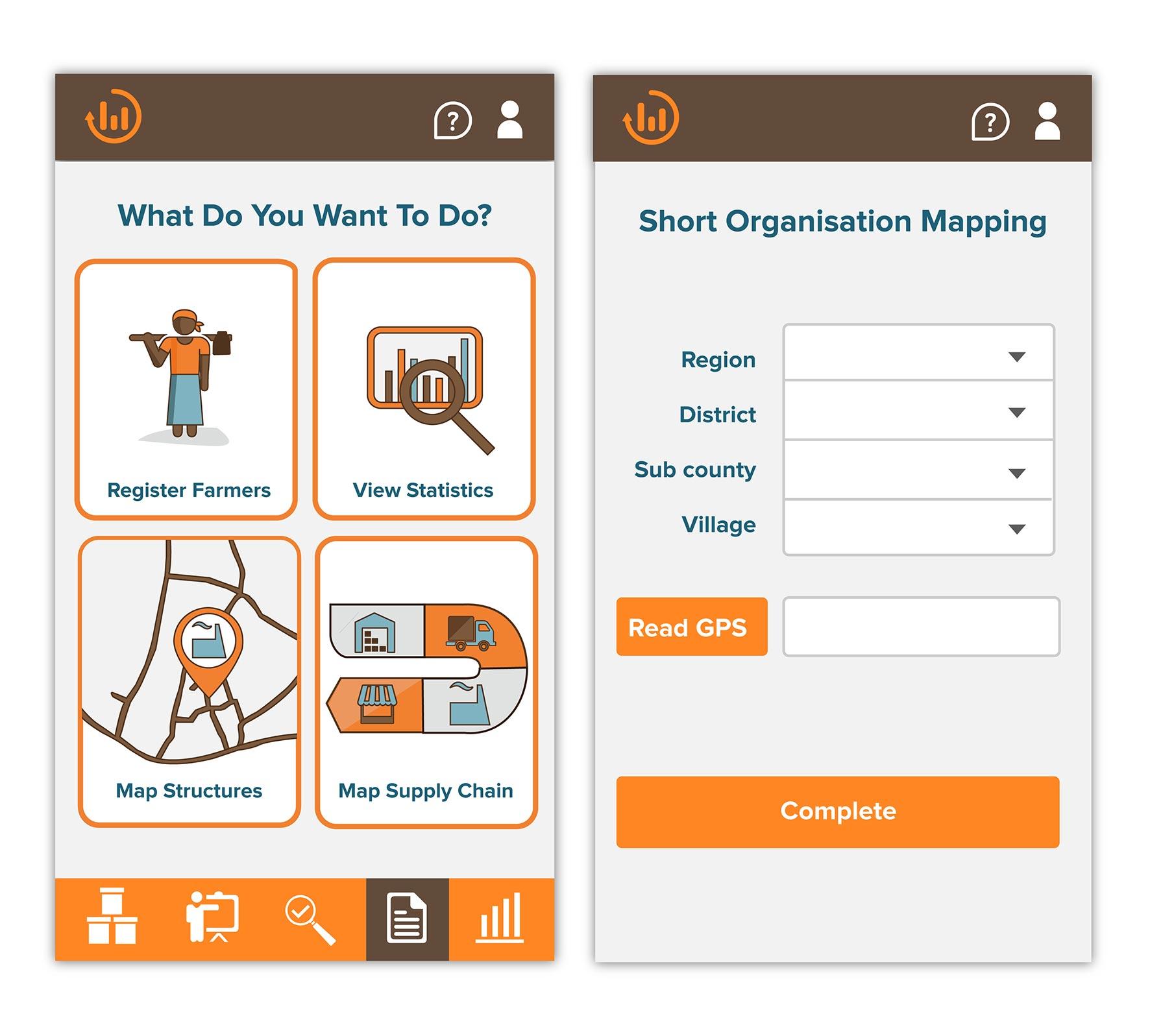 Metajua mobile app UX/UI design