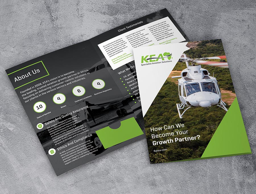 KEA Corporate Folder Design