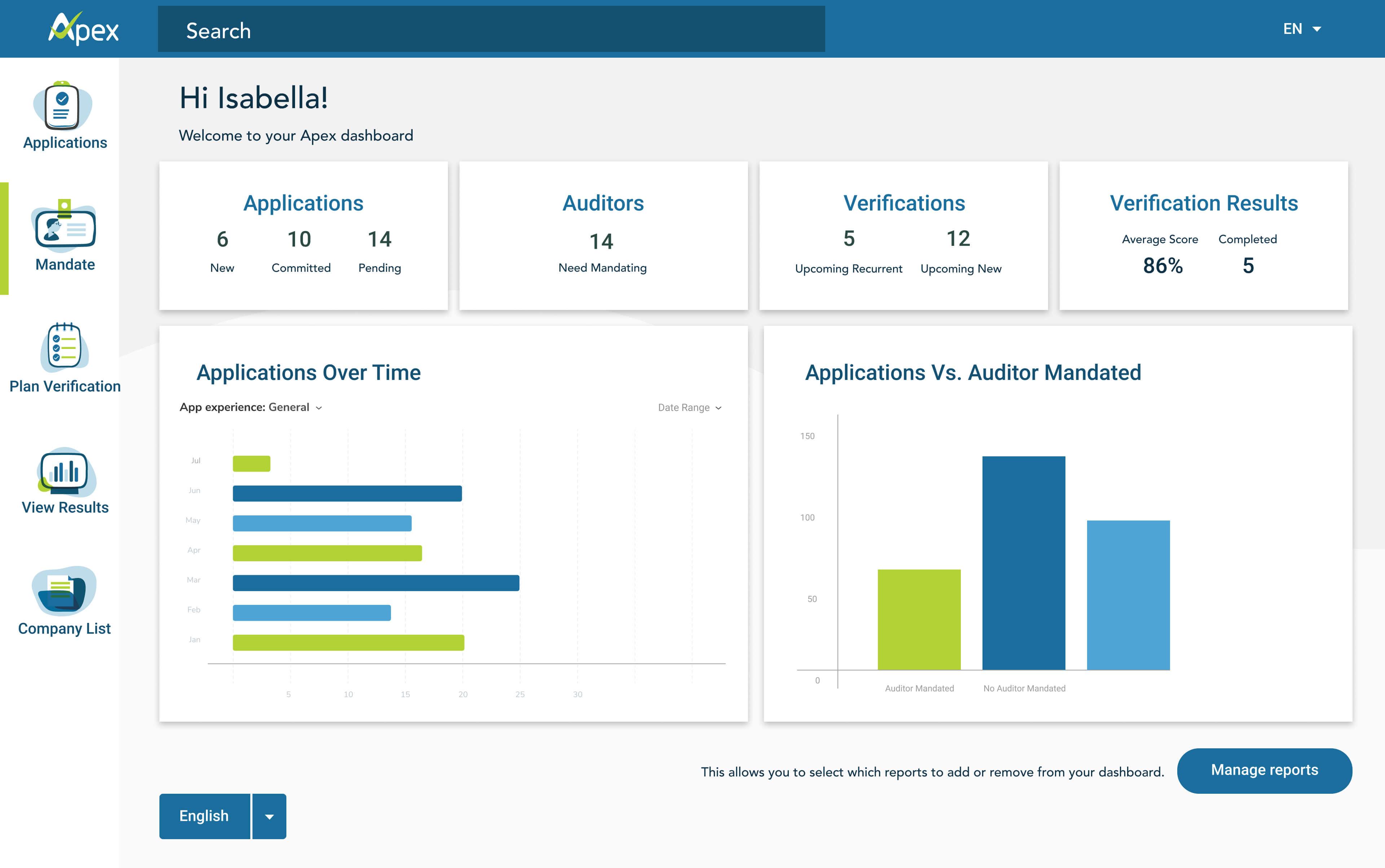 APEX Web Application Design